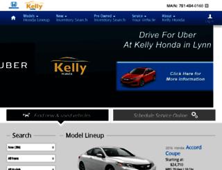 kelly-honda.calls.net screenshot