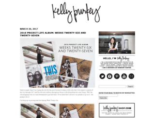 kellypurkey.com screenshot