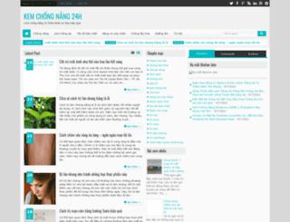 kemchongnang24h.blogspot.com screenshot