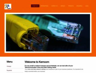 kemcom.com.au screenshot