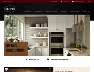 kempercabinets.com screenshot