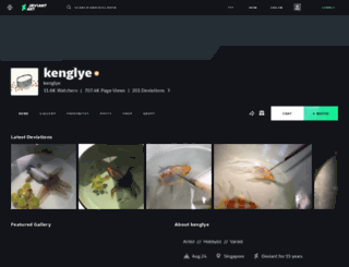 kenglye.deviantart.com screenshot