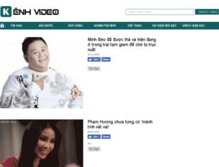 kenhvideo.com.vn screenshot