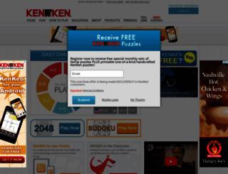 kenkenpuzzle.com screenshot