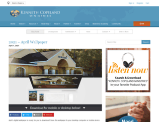 kennethcopelandministries.org screenshot