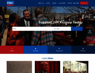 kenney2015.com screenshot