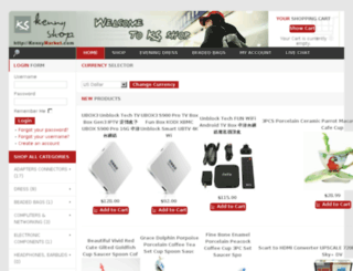 kennymarket.com screenshot