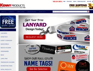 kennyproducts.com screenshot