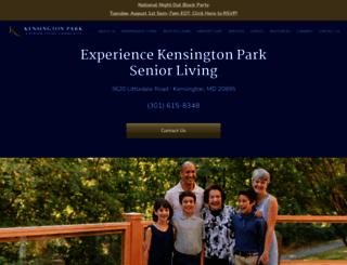 kensingtonretirement.com screenshot