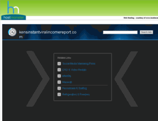 kensinstantviralincomereport.com screenshot