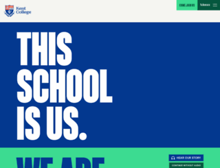 kent-college.co.uk screenshot
