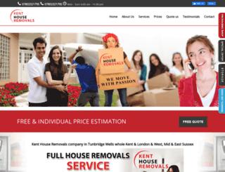 kenthouseremovals.co.uk screenshot