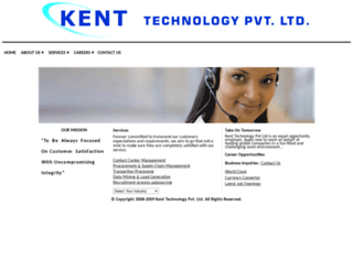 kenttechnology.co.in screenshot