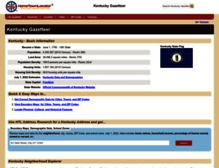 kentucky.hometownlocator.com screenshot