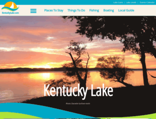 kentuckylake.com screenshot