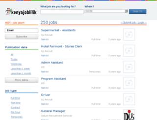 kenyajoblink.com screenshot