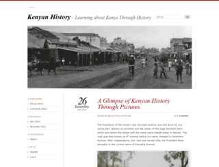 kenyanhistory.wordpress.com screenshot