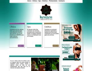kenzen.mx screenshot