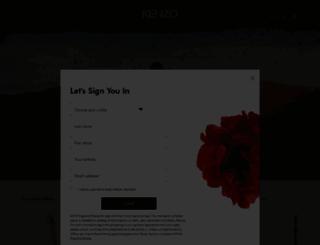 kenzoparfums.com screenshot