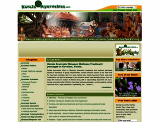 keralaayurvedics.com screenshot