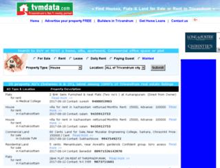 keralahomefinder.com screenshot