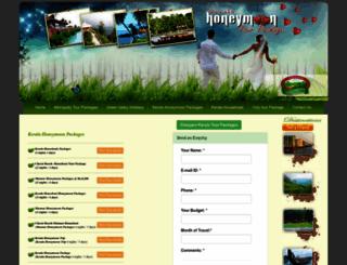 keralahoneymoontourpackage.com screenshot