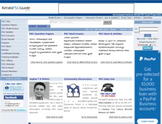 keralapscguide.com screenshot