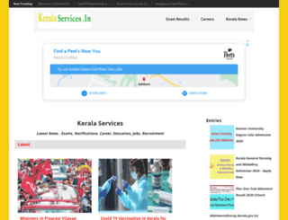 keralaservices.in screenshot
