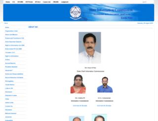 keralasic.gov.in screenshot