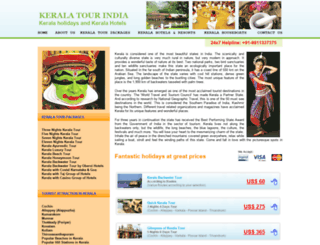 keralatourindia.com screenshot