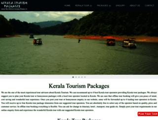 keralatourismpackages.in screenshot