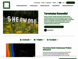 kerava.fi screenshot