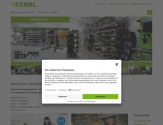 kerbl-france.com screenshot