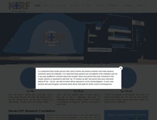 kerfenthospital.com screenshot