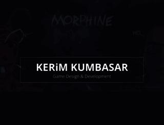 kerimkumbasar.com screenshot