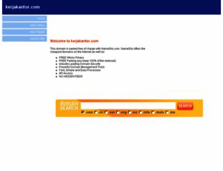 kerjakantor.com screenshot