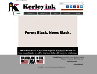kerleyink.com screenshot
