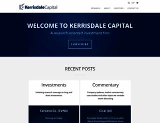 kerrisdalecap.com screenshot