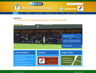 kerrydistrictleague.ie screenshot