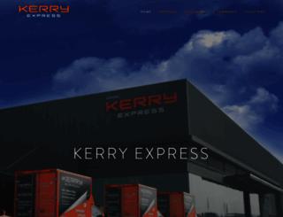kerryexpress.com screenshot