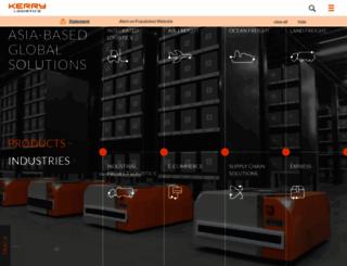 kerrylogistics.com screenshot
