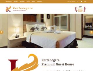 kertanegaraguesthouse.com screenshot