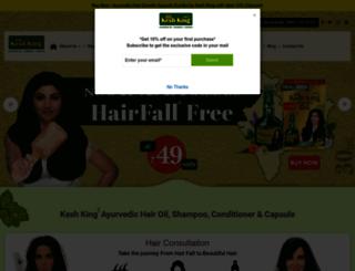 keshking.com screenshot
