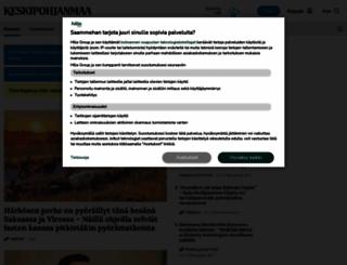 keskipohjanmaa.fi screenshot