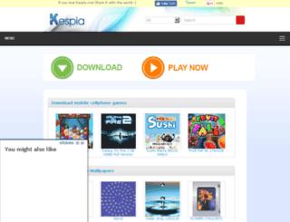 kespia.com screenshot