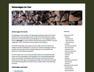 kettensaegen-expert.de screenshot