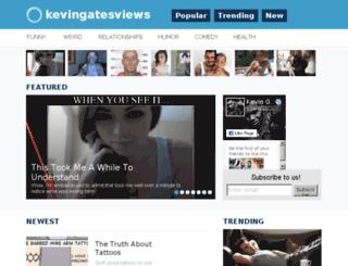kevingatesviews.com screenshot