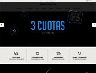 kevingston.com screenshot