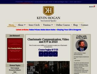 kevinhogan.com screenshot