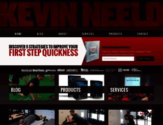 kevinneeld.com screenshot
